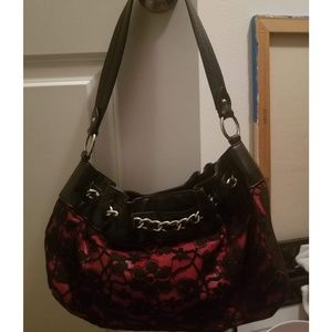 Nine West Black Lace Purse